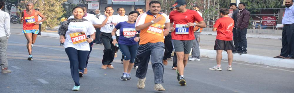 Fusion Informatics - Winners of the Sabarmati Marathon 2015-2