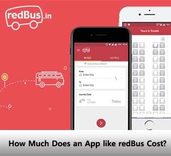 redBus app cost