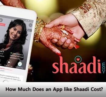 Shaadi app cost