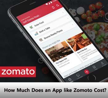 Zomoto app cost