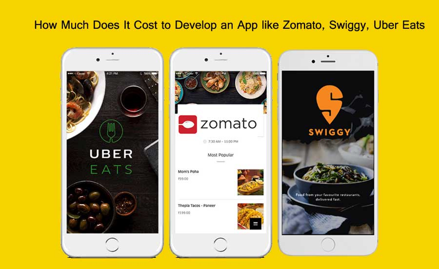 Cost to Develop Food OrderingDelivery App like Zomato, Swiggy, Uber Eats