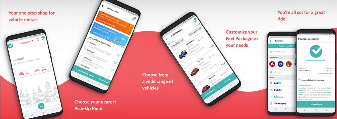 Drivezy App Development cost
