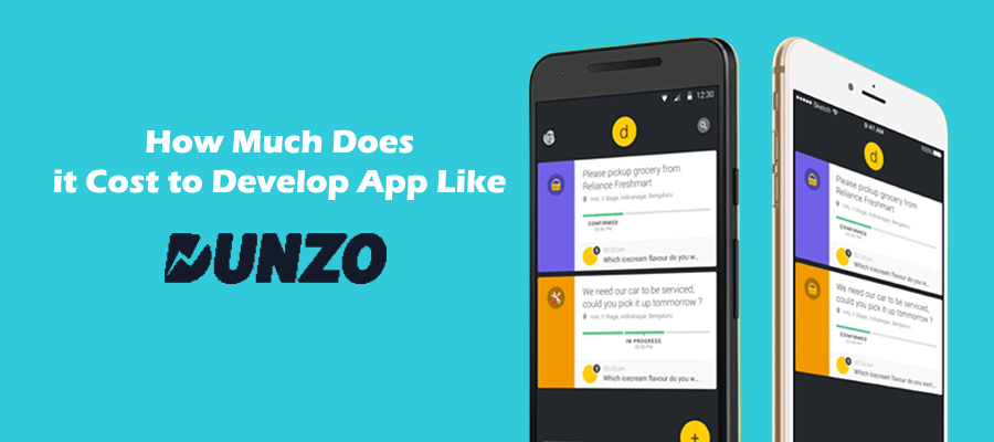 Cost to create an Online Food ordering app like Dunzo