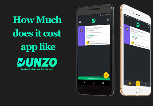 Food delivery app services like Dunzo