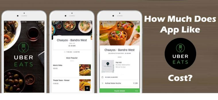 How Much Does a Food Ordering App Like Uber Eats Cost ...