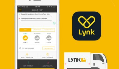 LYNK like Packers and Movers App Development Cost
