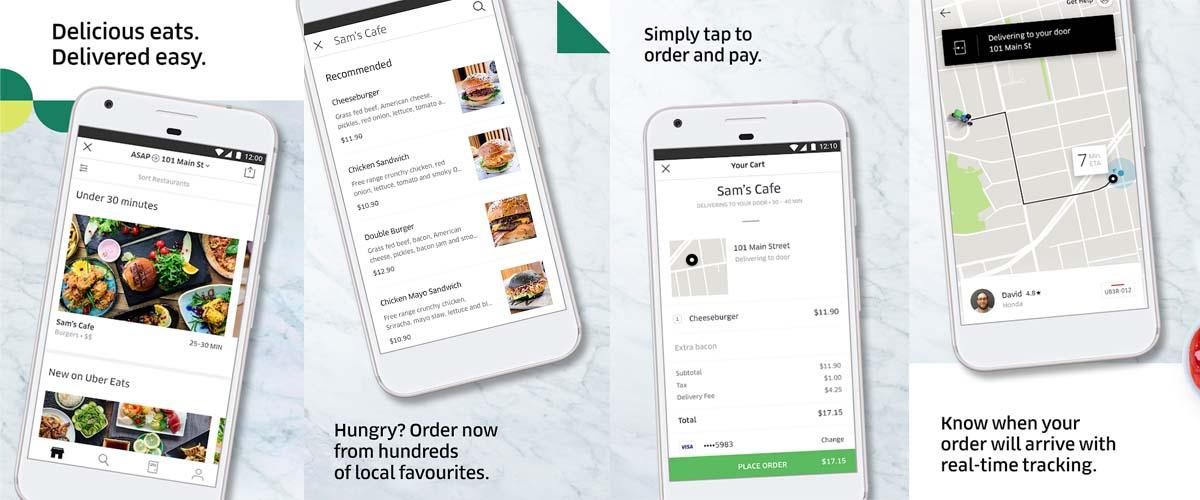 looking to Develop Food Ordering App like Uber Eats