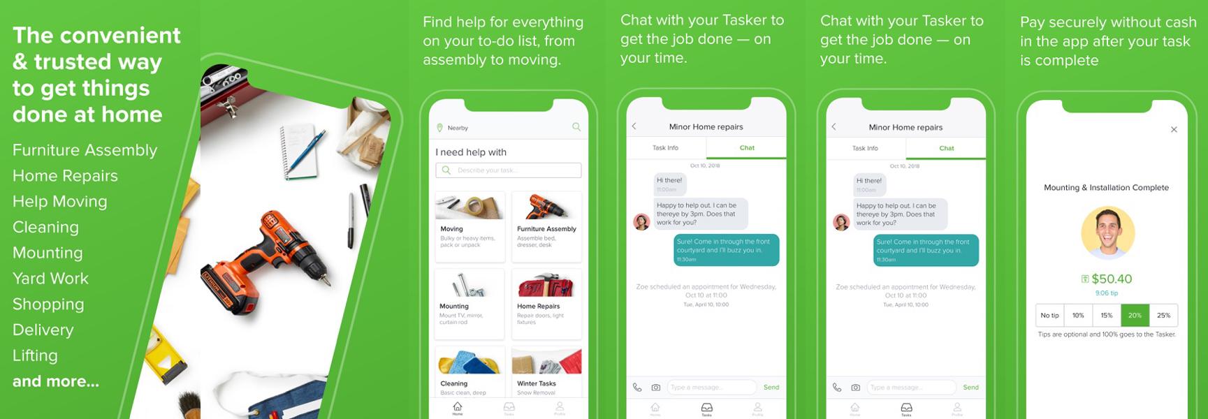 TaskRabbit App Development Cost