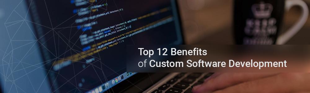 Top 12 Benefits of Custom Software Development