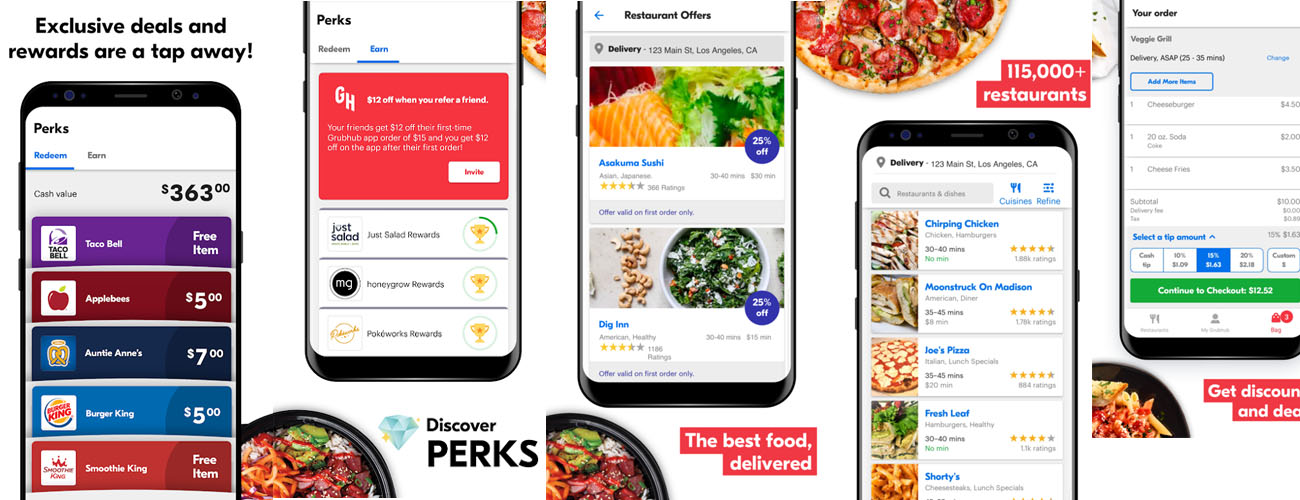 Cost to Develop Local Food Delivery App like Grubhub, Seamless