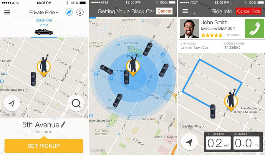 Cost to Develop Taxi Booking App like Gett