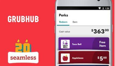 Grubhub, Seamless like Food Delivery App Development Cost