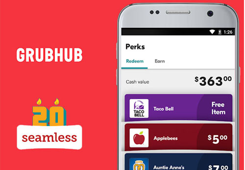 Grubhub, Seamless like Food Delivery App Development Cost