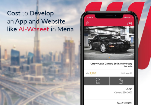 How Much Does it Cost to Develop an App and Website like AI-Waseet ?