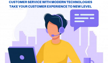 customer service with modern technologies