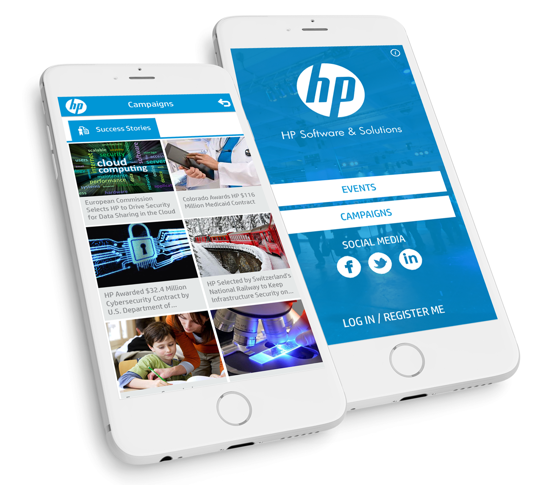 HP Event UAE App