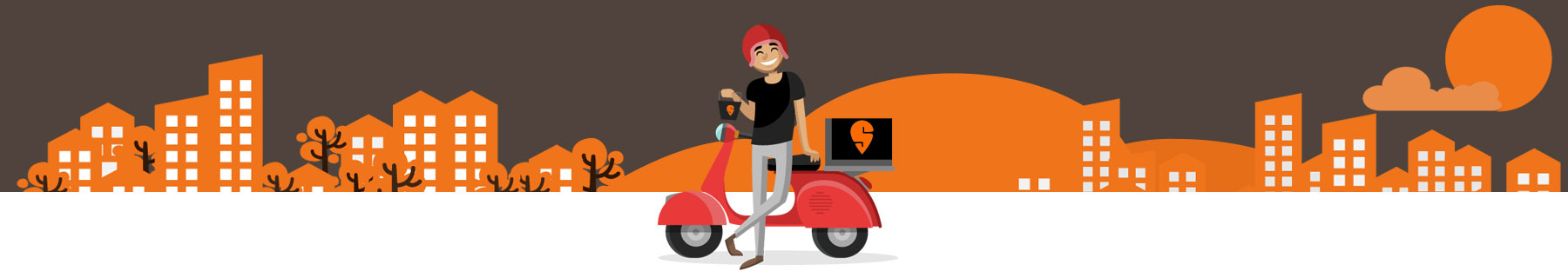 swiggy delivery mobile app ui