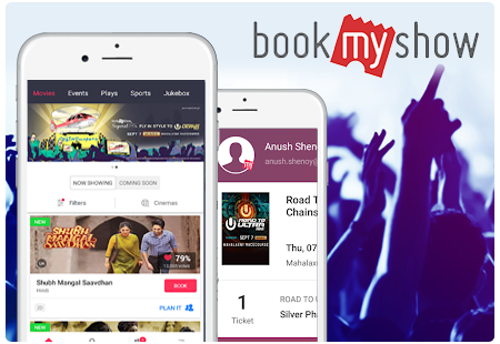 ticket booking app