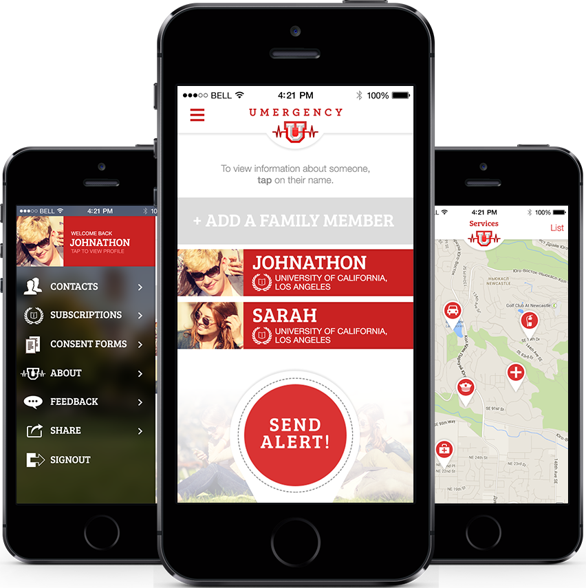 Umergency USA Mobile app