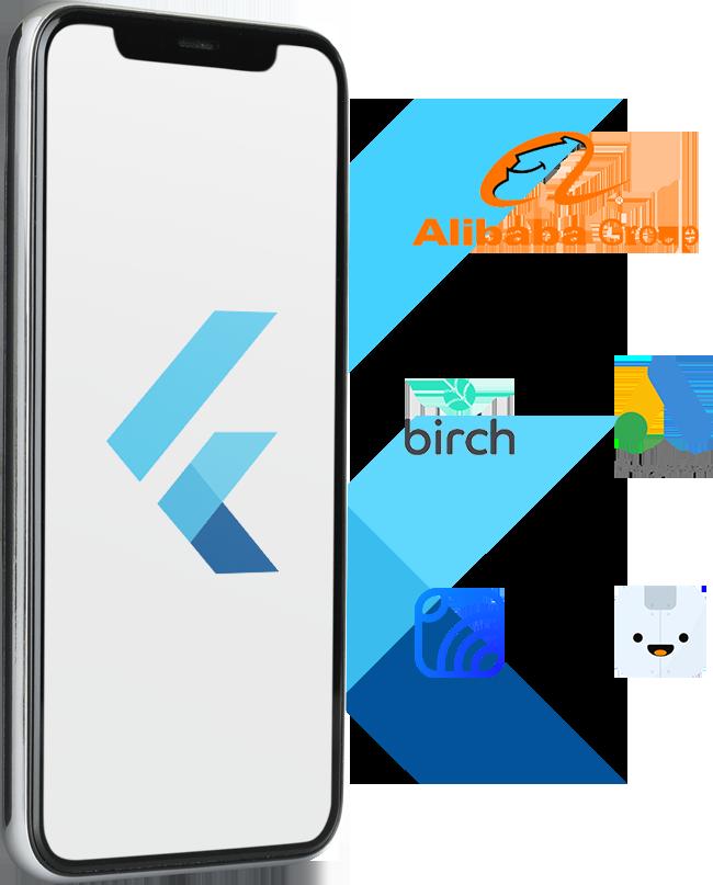 Famous Apps Developed using Flutter kit